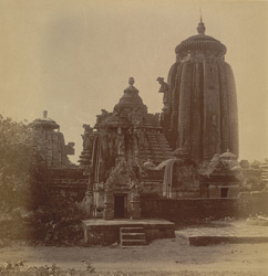 General view from the north of the Lingaraja Temple, Bhubaneshwar